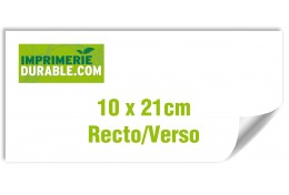 4000 cartons d'invitation recto verso