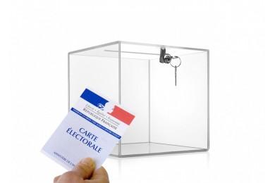 Bulletins de vote 14,8 x 10,5 cm Recto 1 coul